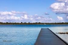 Veerse Meer Anlieger Blick auf Kamperland