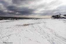 Der Blick über den Strand nach süden